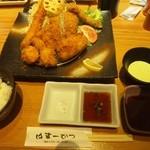 はまーかつ - 料理写真:ミックスフライ & 夕食セット
