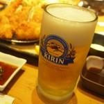 はまーかつ - 生ビール♪