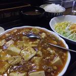 27445946 - 麻婆豆腐セット