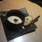 一真 - 料理写真:じゃがいもの冷製スープ