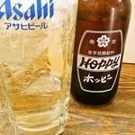 風庵 - ホッピーset 450円