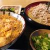薮庵 - 料理写真:ざるそばとミニ玉子丼セット