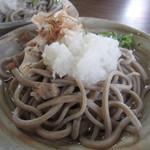 一福 - 2013.09.11 おろしそば 塩だし 650円