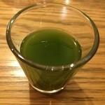 玄三庵 - 飲む野菜ジュース。甘くて飲みやすいですよ
