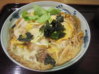 吾妻橋 やぶそば - 「親子煮」(2014.5)