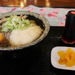福寿 - 料理写真:とろろ肉そば