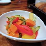 GABUCHIKIワイン倶楽部 - 彩り野菜のピクルス