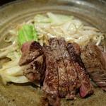 ステーキ石田 - 2000円のステーキランチのお肉。