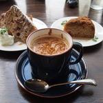 晴れ屋 - 豆乳チャイはシナモンたっぷりで美味しい