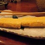日本酒とお刺身 秋丸 - ふわふわ出し巻き卵