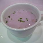27462563 - 紫芋のスープ