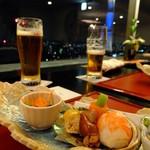 27462689 - 「花」会席 コース:6480円税込+別途サービス料10%・前菜 海老手毬寿司