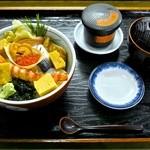27463503 - ランチ海鮮丼セット