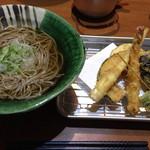 馬方そば屋 - 天ぷら蕎麦