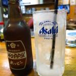 伴 - ホッピー390円 強烈な焼酎量!