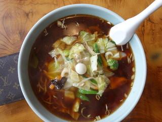 ちんめん - 別れの広東麺。伊達市では盛りの良さでは一番のお店です。味もなかなか!