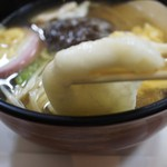 喫茶マコ - 雑煮のお餅UP