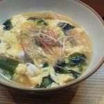 しら川 - 鱧の卵とじ 鍋仕立て