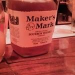 ジーエス バー - 良く冷えたMaker'sMark