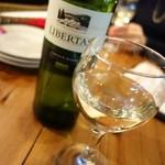 PIZZA SALVATORE CUOMO - 南アフリカのワイン【LIBERTAS ¥2,500】