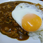 丸福 - 目玉カレー