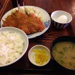 甚兵衛 - アジフライ定食