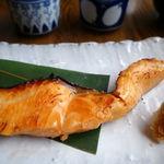 amber - 漬け込み焼き定食 1050円 + 大盛 100円