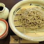 蕎麦見世のあみ - 手挽きせいろ ¥900(税込)