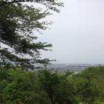 青い丘 - 青い丘からの眺め。この日は天気が悪かったので曇っています(´・ω・`)