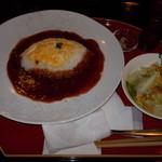 茶廊車門 - 茶廊車門 ハヤシビーフライス 780円