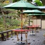 栄屋ホテル - 中庭テラス