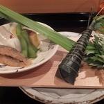 壽山 - 2014/05アイナメ新子の南蛮漬け マツカワのちまき