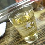 一徳 - 裏名物の樽焼酎 強烈なアルコール度