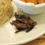 リマカフェ - 椎茸と昆布の煮物