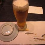 27486506 - ランチビール エビス生(小) 380円