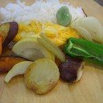 27488443 - 今日も野菜をたっぷり頂きました。