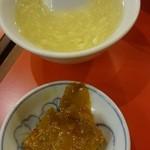 27488653 - スープとザーサイ