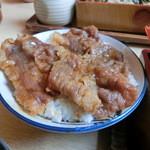 そば処いち膳 - ミニ焼肉丼