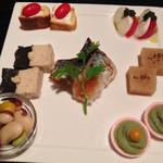 Koideya - 前菜盛り合わせ