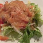 ターヴォラ カルダ モンステラ - ランチセットのサラダ