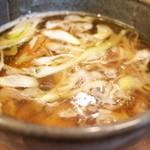 京都千丸しゃかりき - 京都千丸しゃかりきの和風煮干しつけそばのつけ汁(14.02)