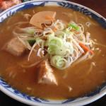 池田食堂 - 料理写真:孟宗みそラーメン780円