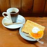 B&H - コーヒーと南瓜のシフォンケーキ(ランチ+)