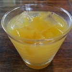ブラス - ◇食後の ドリンク…数種類の中から  オレンジジュースを。