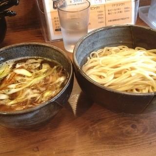京都千丸しゃかりき - 京都千丸しゃかりきの和風煮干しつけそば800円(14.02)