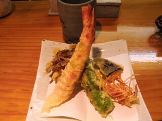 石臼挽き手打 蕎楽亭 - 天ぷら