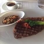 ニューヨーク・グリル - メイン「和牛のステーキ」