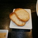 和風ダイニング 蔵-kura- - パスタについてるパン