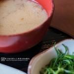 なごみ - ナメコの味噌汁