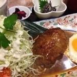 蘭 - ランチ✨煮込みハンバーグ定食